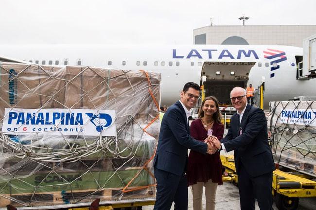 Latam Cargo com um bom começo na rota Lisboa-Guarulhos