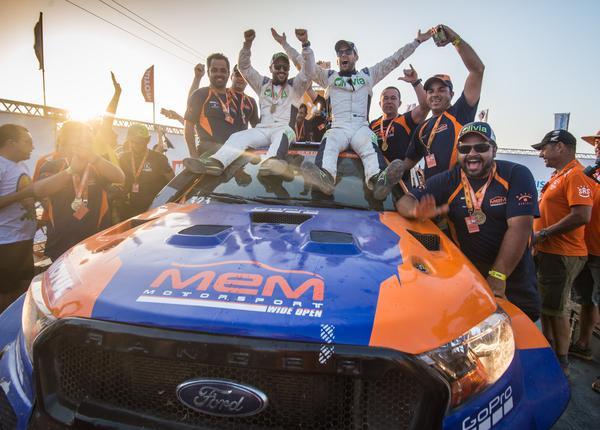 Os atuais campeões de Carros: Lucas Moraes/Kaique Bentivoglio