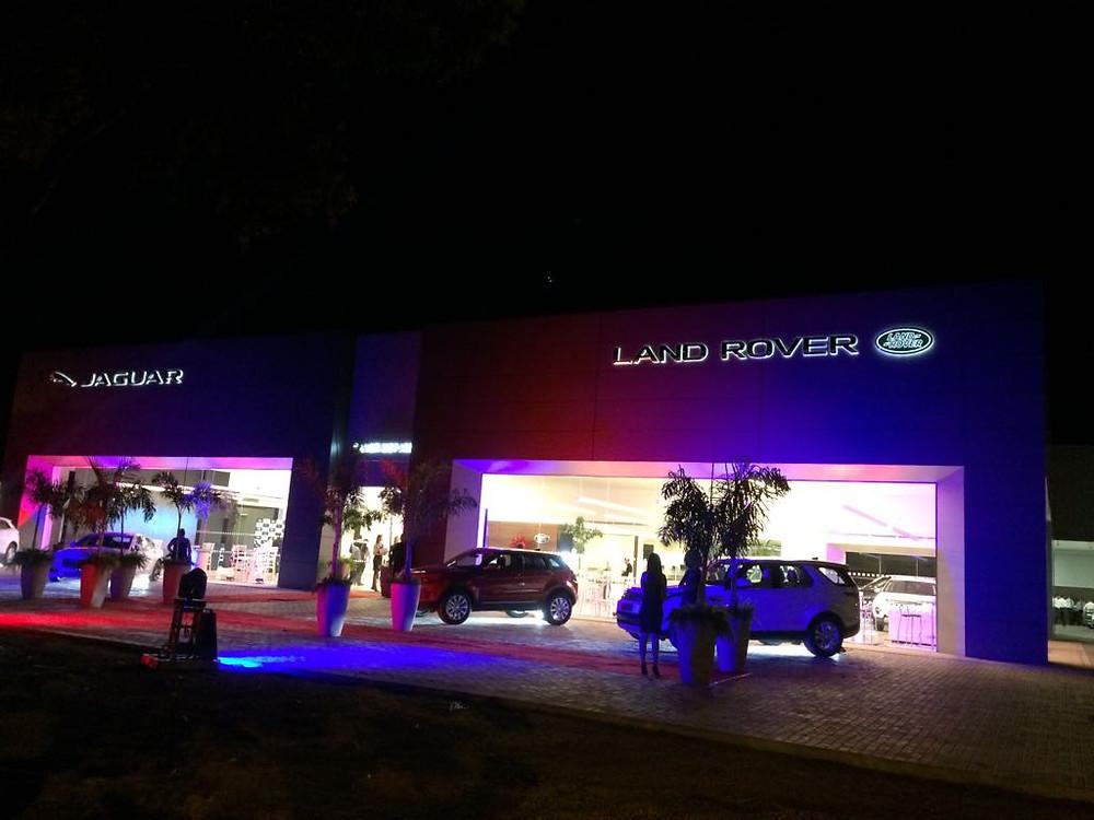 Jaguar Land Rover é a primeira marca premium de veículos a abrir concessionária em Palmas