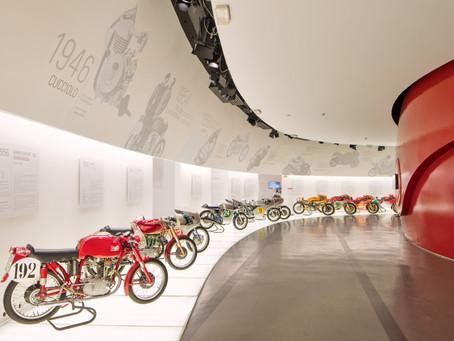 O Museu Ducati reabre em 21 de maio