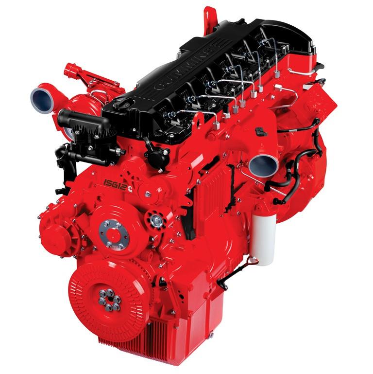 Fenatran 2017: Maior fabricante independente de motores, Cummins mostra matrizes energéticas Diesel e Gás.