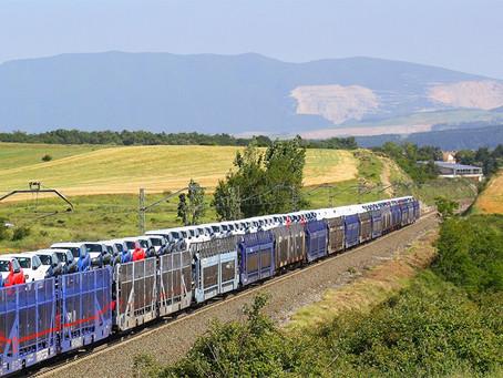 Ferrovia: 110.116 veículos saíram da fábrica da Volkswagen na Espanha de trem