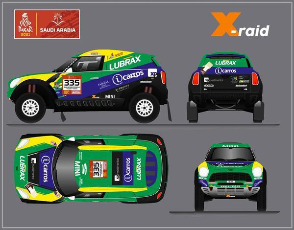 Guiga Spinelli e Youssef Haddad disputam Rally Dakar 2021 com Mini da X-raid
