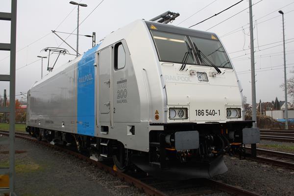 Ferrovia: Bombardier entrega a locomotiva TRAXX número 200 para a Railpool