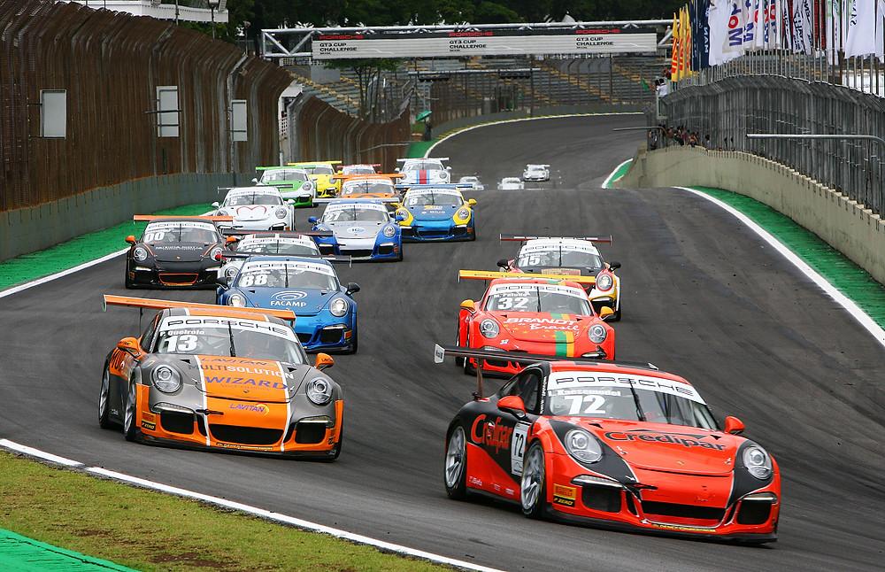 Lico Kaesemodel largou na pole e manteve a liderança até o final em sua primeira vitória na Porsche GT3 Cup