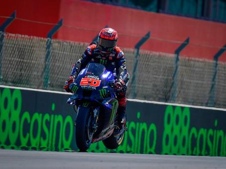 MotoGP: Quartararo conquista vitória em Portimão