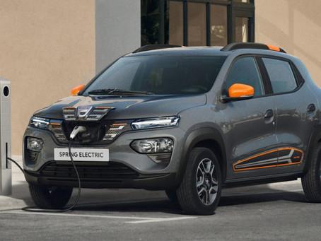 Expressas: Por 12.400 euros, carro elétrico mais barato da Europa é o Dacia Spring Electric