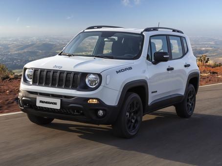 Jeep Renegade retoma liderança no segmento dos SUVs compactos