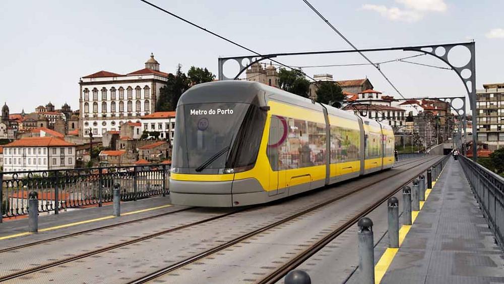 Metro do Porto confirma pedido de 18 composições da CRRC