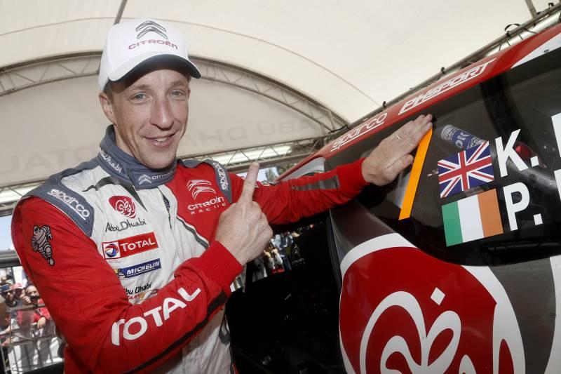 Kris Meeke em Citroen - Rei e Senhor no Rally de Portugal