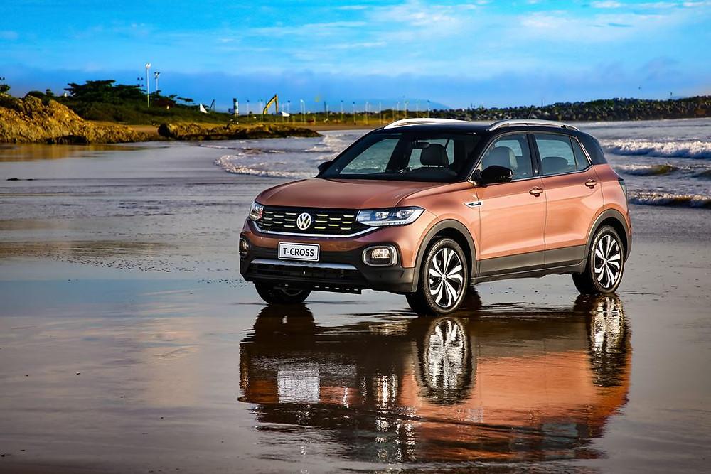 Bridgestone fornece pneus para o Volkswagen T-Cross