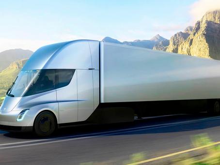 Expressas: Tesla confirma para este ano a fabricação do caminhão Semi