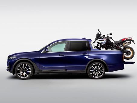 BMW converte X7 em pick-up e mostra o que poderá ser um novo segmento da marca