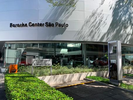 Porsche instala em São Paulo o carregador para veículos elétricos mais rápido do Brasil