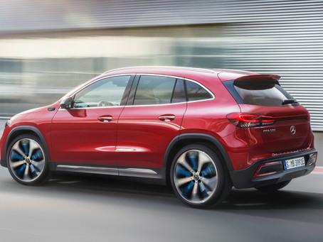 Expressas: Mercedes elétrico EQA chega em 2021 ao mercado europeu