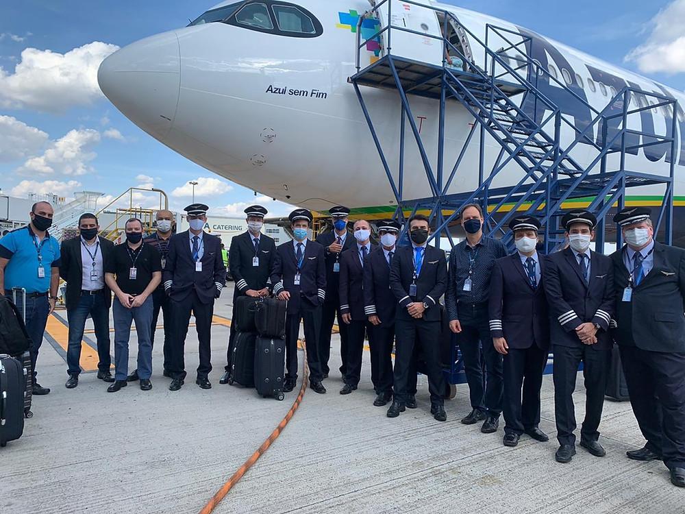 Azul vai à China buscar 400 respiradores e 1,6 milhão de testes rápidos para Covid-19