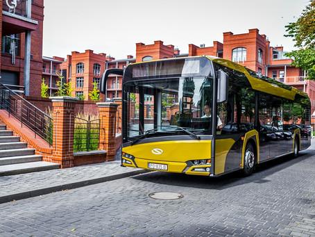 Barcelona receberá mais ônibus híbridos da Solaris