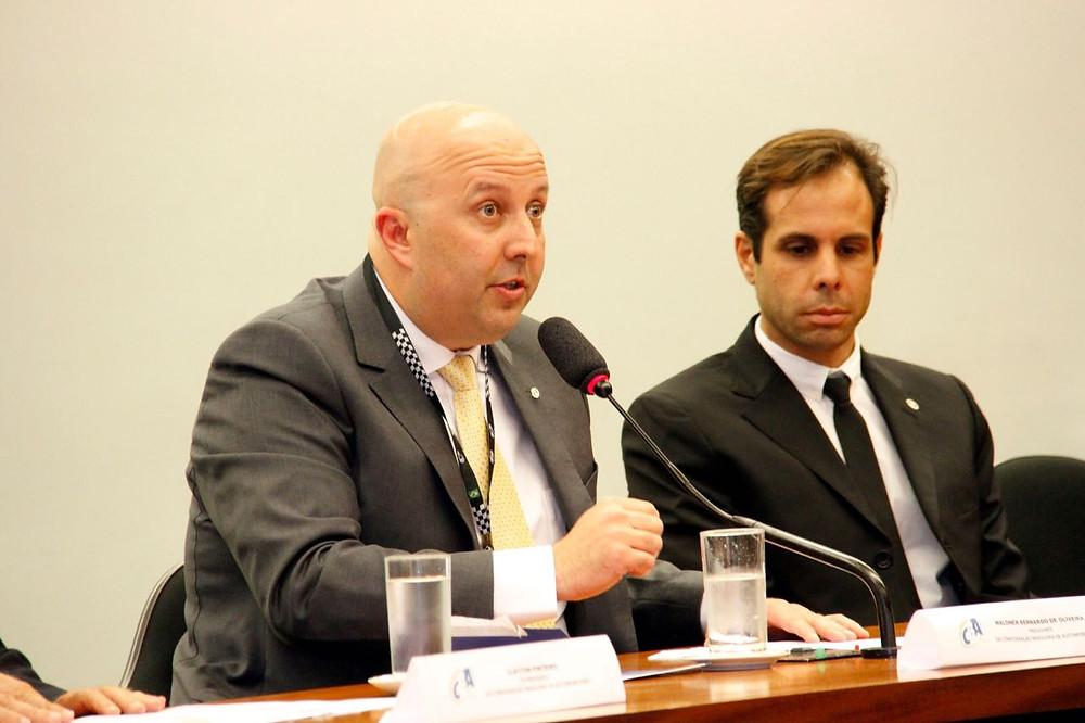 Waldner Bernardo toma posse de presidência da CBA
