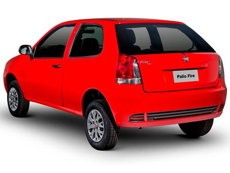 """Fiat Palio Fire Economy 1.0 2p, 'carrega"""" R$ 9.211 mil em impostos."""