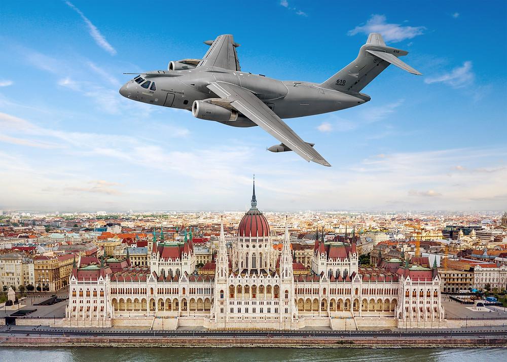 Aviação: Hungria compra duas aeronaves multimissão KC-390 Millennium da Embraer