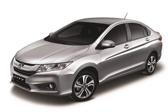 Linha 2016 do Honda City ganha novos equipamentos