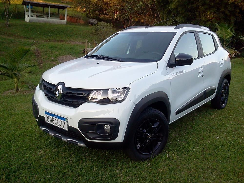 Avaliação: Renault Kwid Outsider, o pequeno urbano ganhou exclusividade