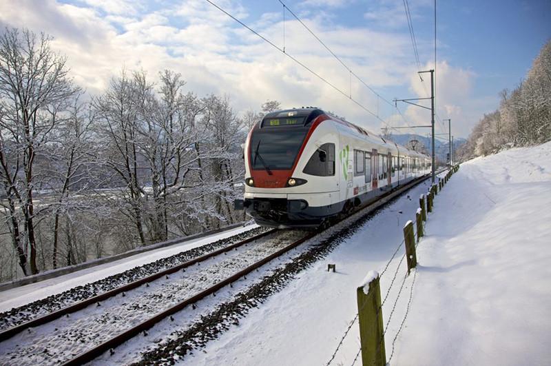 Catorze novos trens Flirt da Stadler para os caminhos de ferro suíços