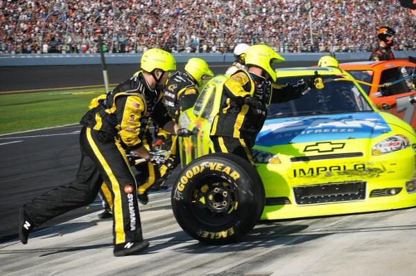 Goodyear e NASCAR ampliam acordo histórico com mais de seis décadas