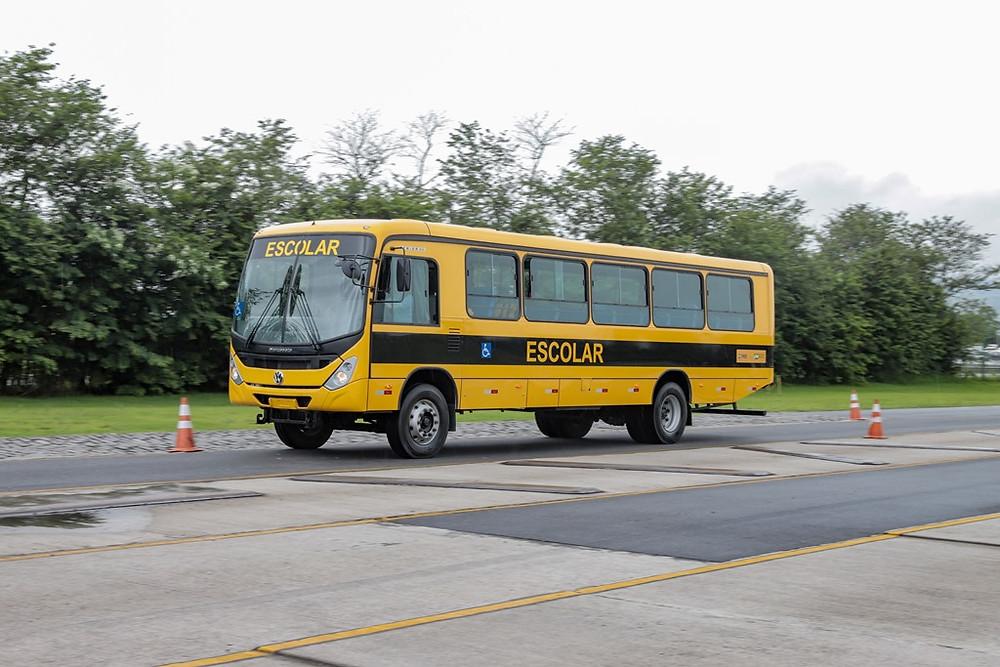 Volkswagen entrega 146 ônibus para a prefeitura de Porto Velho