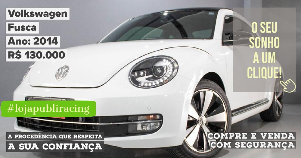 ACESSE #LOJAPUBLIRACING CLICANDO - Volkswagen Fusca Ano 2014