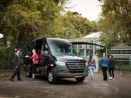 Shift adquire 15 vans da nova Sprinter da para transfer e transporte executivo
