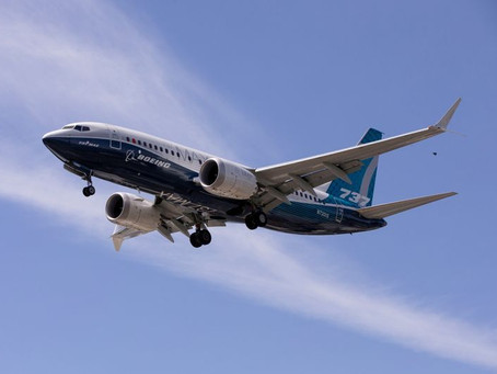 A empresa de investimentos 777 Partners faz pedido de 24 aviões Boeing 737 MAX