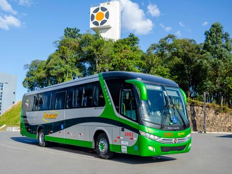 Ônibus: Marcopolo entrega 9 veículos para o Grupo Dalamar de Santa Catarina