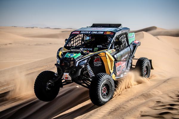 Dakar 2021: Oitava etapa tem brasileiros e portugueses como destaques nos UTVs/SSVs