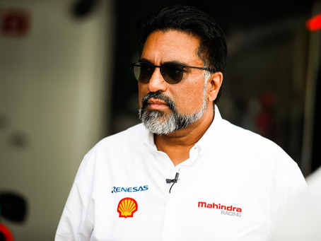 """Dilbagh Gill """"A Mahindra lidera o caminho da sustentabilidade na Fórmula E"""""""