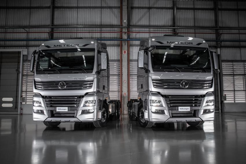Volkswagen ao ataque no segmento de caminhões extrapesados