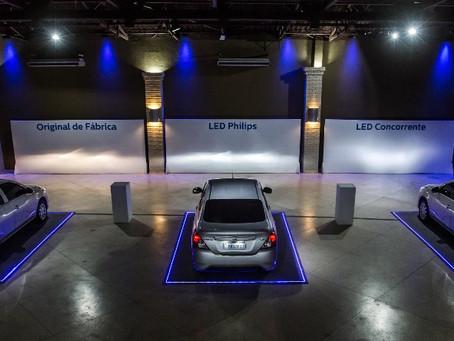 Philips mostra a segunda geração de sua lâmpada em LED para faróis de veículos.