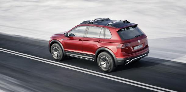 Volkswagen apresenta no Salão de Detroit o Tiguan GTE Active Concept
