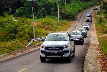 Antes de sua chegada na América Latina, Ford mostra nova Ranger nas trilhas da Malásia