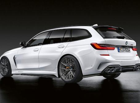 Expressas: BMW mostra a M3 Touring 2022