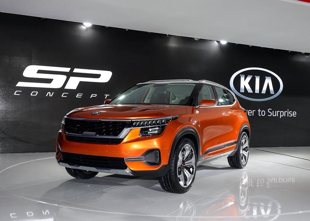 Kia revela SP Concept e apresenta 16 modelos globais na Auto Expo 2018