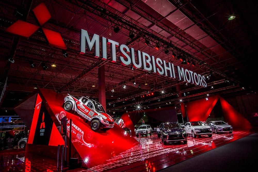 Mitsubishi Motors traz novidades em 4x4, crossovers e SUVs para o Salão do Automóvel de SP
