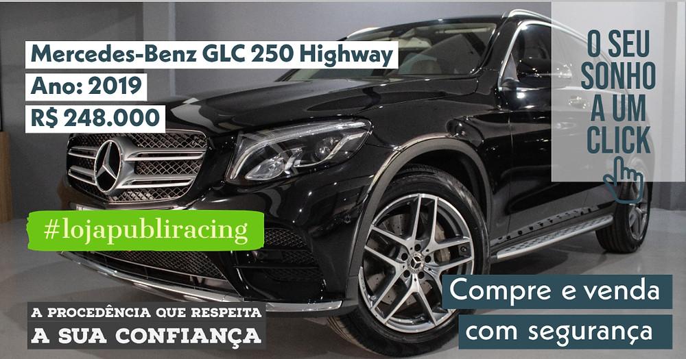 ACESSE #LOJA CLICANDO - Mercedes-Benz GLC 250 Highway - Ano 2019