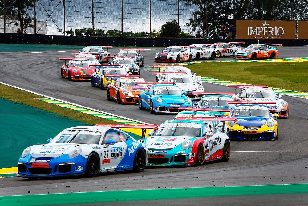 Guia: Em Interlagos,Porsche GT3 Cup abre campeonato Endurance Series, e com arquibancadas disponíveis para o publico.