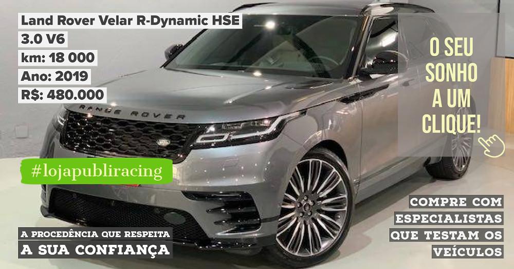 ACESSE #LOJA PUBLIRACING - Land Rover Velar R-Dynamic HSE