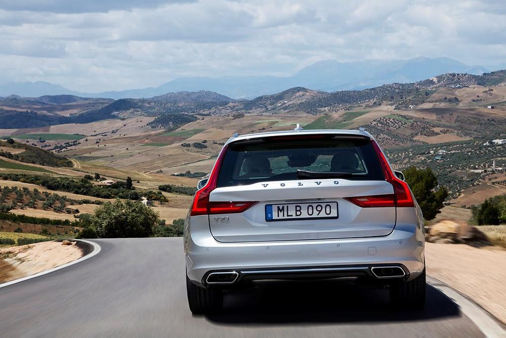 V 90 da Volvo, a tradicional elegância e versatilidade da station wagon