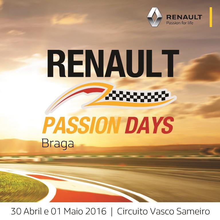 Circuito de Braga, no norte de Portugal, abre as portas para o público conhecer os destaques da Renault na pista.