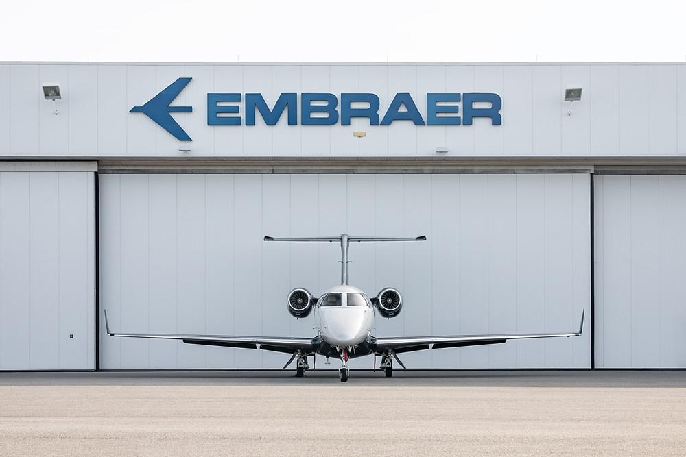 Aviação: Phenom 300 da Embraer se torna o jato leve mais vendido do mundo