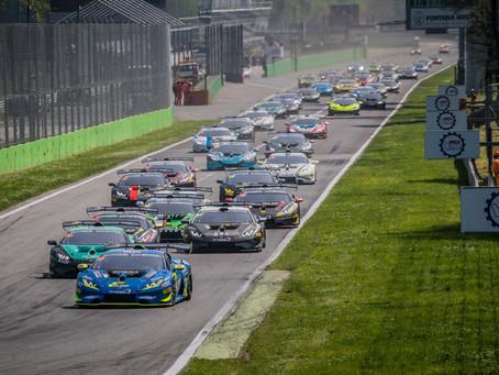 Com brasileiro e mais de 30 carros,  Lamborghini Super Trofeo Europe abre temporada em Monza