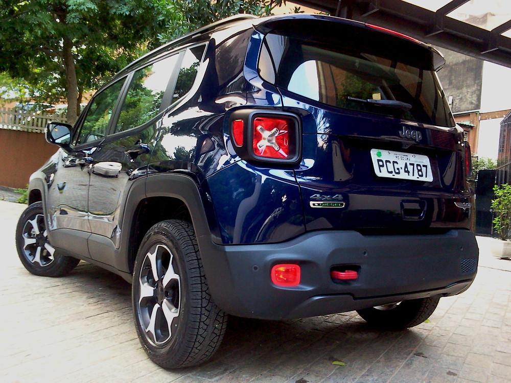 Avaliação: De motor diesel e 4x4, Renegade Trailhawk é a verdadeira essência do DNA Jeep